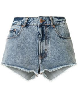 Frayed Denim Short - Filles A Papa