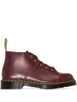 Ankle Boot Church De Couro - Dr. Martens