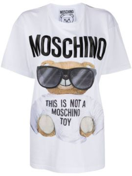 Teddy Bear-print T-shirt - Moschino