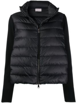 Panelled Puffer Jacket - Moncler