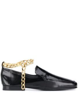 Chain Ankle Strap Loafers - By Far