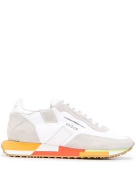 Colour-block Sole Sneakers - Ghoud