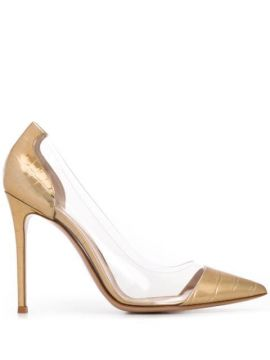 Metrix 120mm Crocodile-effect Pumps - Gianvito Rossi