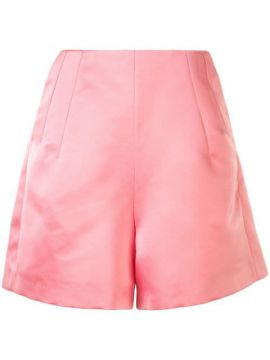 Satin Thigh-length Short - Dice Kayek
