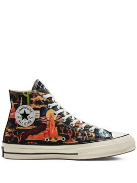 Chuck 70 Twisted Resort High Top Desert Print Sneakers - Con