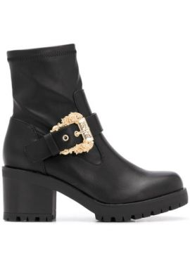 Buckle-detail Ankle Boots - Versace Jeans Couture