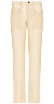 Juliana Straight Leg Trousers - Anemone