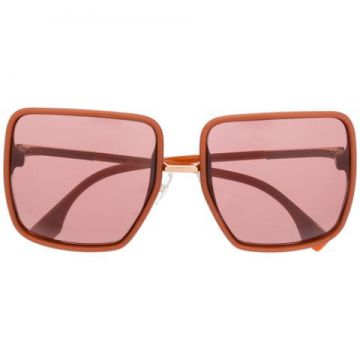Oversized Square Frame Sunglases - Fendi Eyewear