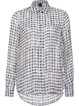 Graphic-print Shirt - Pinko