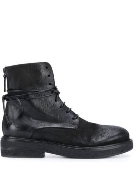 Ankle Boot Com Efeito Destroyed - Marsèll