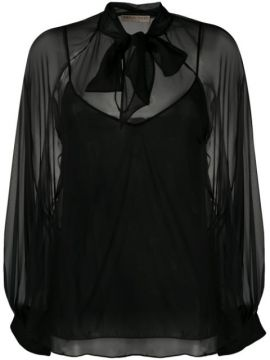 Pussy-bow Blouse - Emilio Pucci