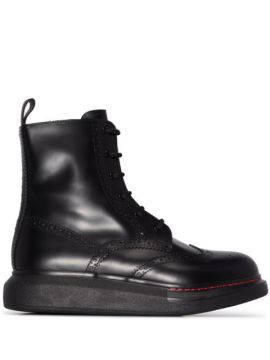 Lace-up Ankle Boots - Alexander Mcqueen