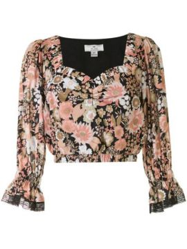 Jessa Floral-print Crop Top - We Are Kindred