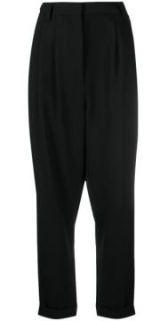 Tapered Dropped Crotch Trousers - Mm6 Maison Margiela