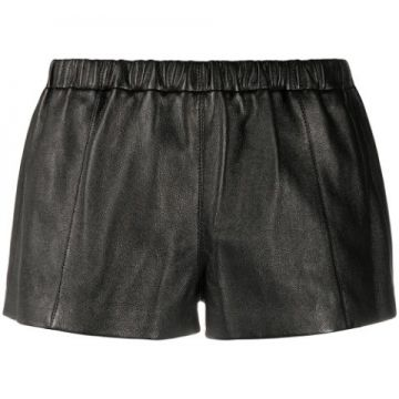 Short De Couro - Saint Laurent