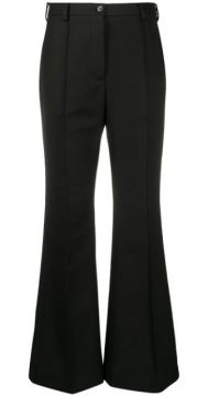 Flared High-waisted Tailored Trousers - Acne Studios
