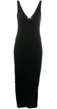 Fitted Ribbed Dress - Helmut Lang
