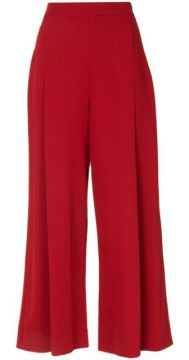 Equinox Cropped Wide-leg Trousers - Ginger & Smart