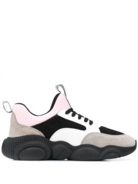 Panelled Low-top Sneakers - Moschino