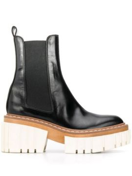 Ankle Boot Com Plataforma - Stella Mccartney