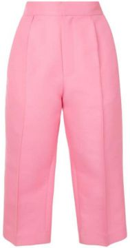 Tailored Capri Trousers - Dice Kayek