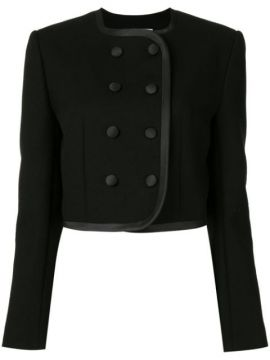 Fitted Double-breasted Jacket - George Keburia
