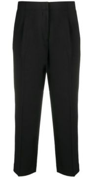 High Rise Cropped Trousers - Michael Michael Kors