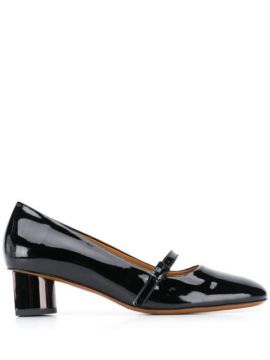 Petra Leather 50mm Pumps - Clergerie