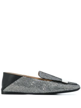 Crystal Embellished Loafers - Sergio Rossi