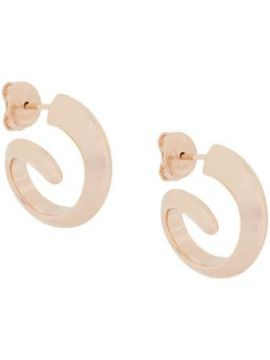 Short Hoop Earrings - Bottega Veneta