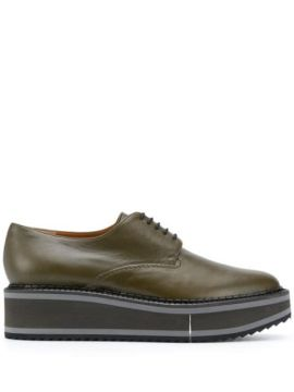Sapato Oxford Brook Com Plataforma - Clergerie