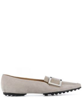 Textured Effect Loafers - Sergio Rossi