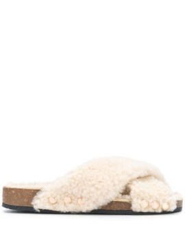Wild Touch Shearling Sandals - Dorothee Schumacher