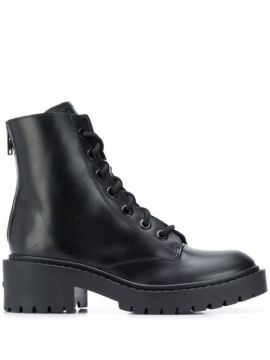 Ankle Boot De Couro - Kenzo