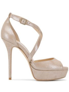 Sandália Jenique Com Plataforma 125mm - Jimmy Choo