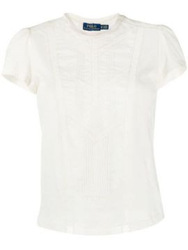 Lace Panelled T-shirt - Polo Ralph Lauren