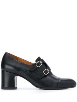 Monk-strap Heeled Shoes - Chie Mihara