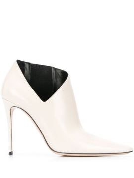 Side Cut-out Boots - Casadei