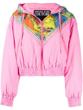 Jaqueta Bomber Color Block - Versace Jeans Couture