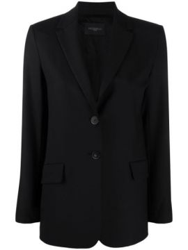 Fitted Single-breasted Blazer - Antonelli