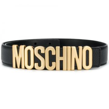 Logo-plaque Belt - Moschino