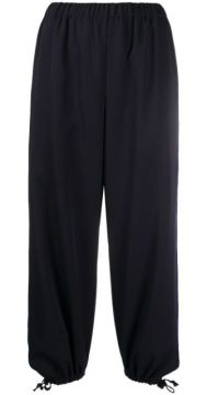 Cropped Tapered-leg Trousers - Comme Des Garçons Girl