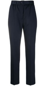 Belted High-rise Trousers - Agnona