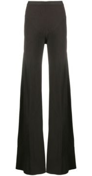 Mid-rise Flared Trousers - Rick Owens
