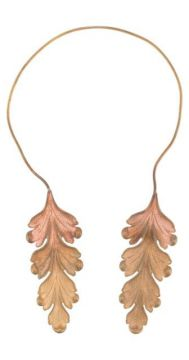 Twin Acanthus Leaf Necklace - Ann Demeulemeester