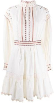 Embroidered Flared Dress - Etro