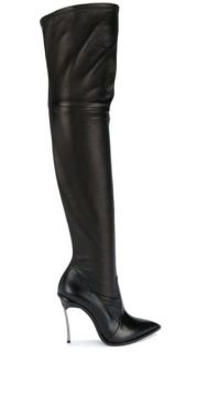 Pointed Over-the-knee Boots - Casadei