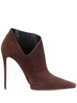 Cut-out Detail Ankle Boots - Casadei