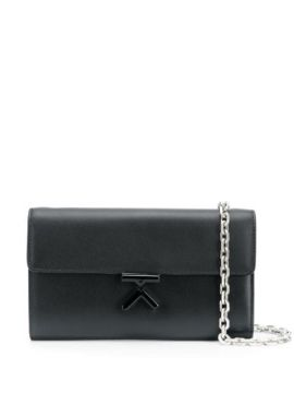 K Fastening Cross Body Bag With Chain Shoulder Strap - Kenzo