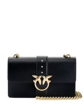 Love Buckled Crossbody Bag - Pinko